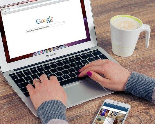 czyszczenie historii google